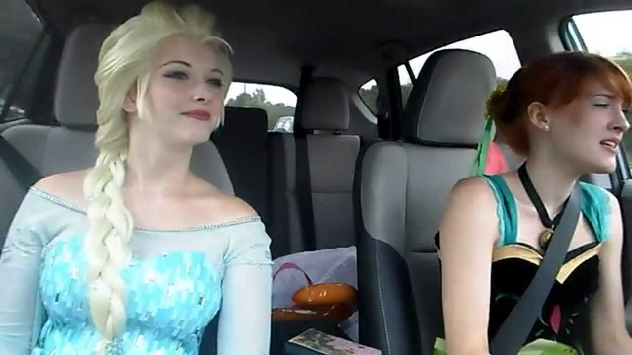 Anna And Elsa Car Ride Vlog 2