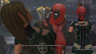 Deadpool Kissing Rogue