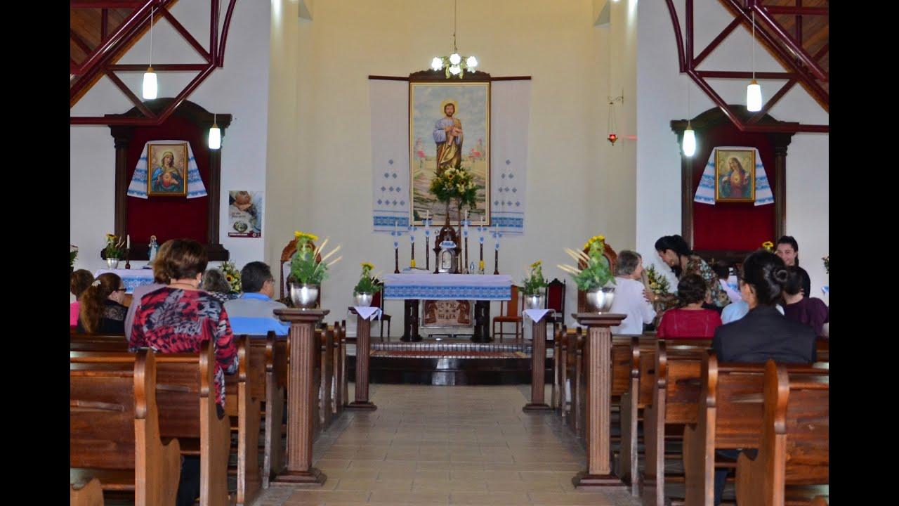 Primeira Comunh u00e3o Ucraniana 2015 Igreja S u00e3o José Operário YouTube -> Decoração Para Primeira Comunhão Na Igreja