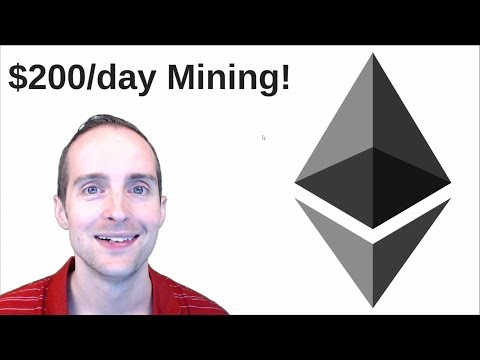 $200 A Day Mining Ethereum or ETC?