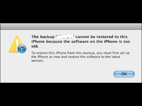 Can t backup iphone to computer