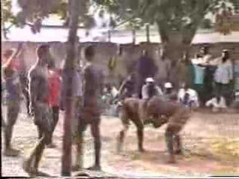 THE GAMBIA CULTURE : WRESTLING