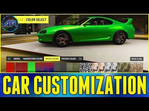 Forza Horizon  Car Customization