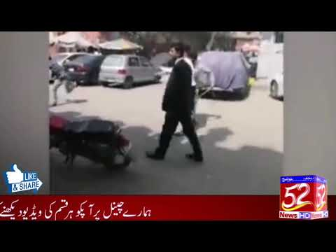 Firing on another lawyer in a lawyer in Faisalabad.!