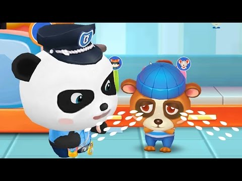 Fun Baby Panda Games - Baby Play Learn Police Officer Duty And Safety Tips - Oggytube