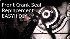 How To Replace a Front crankshaft Oil  Seal