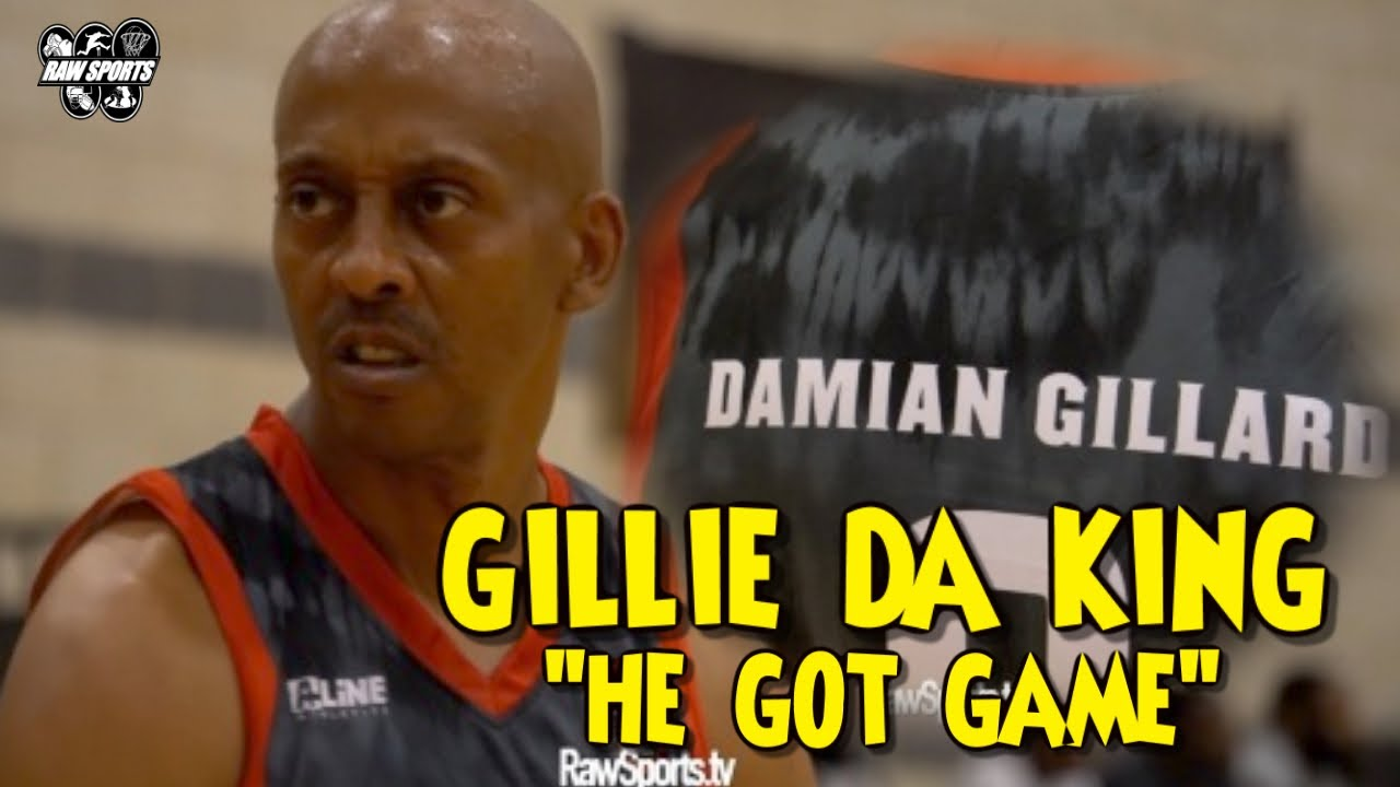 "Download GILLIE DA KING aka ""DAMIAN GILLARD"" HE GOT A MILLION DOLLAZ WORTH OF GAME ON THE COURT!!! 💰 🏀"