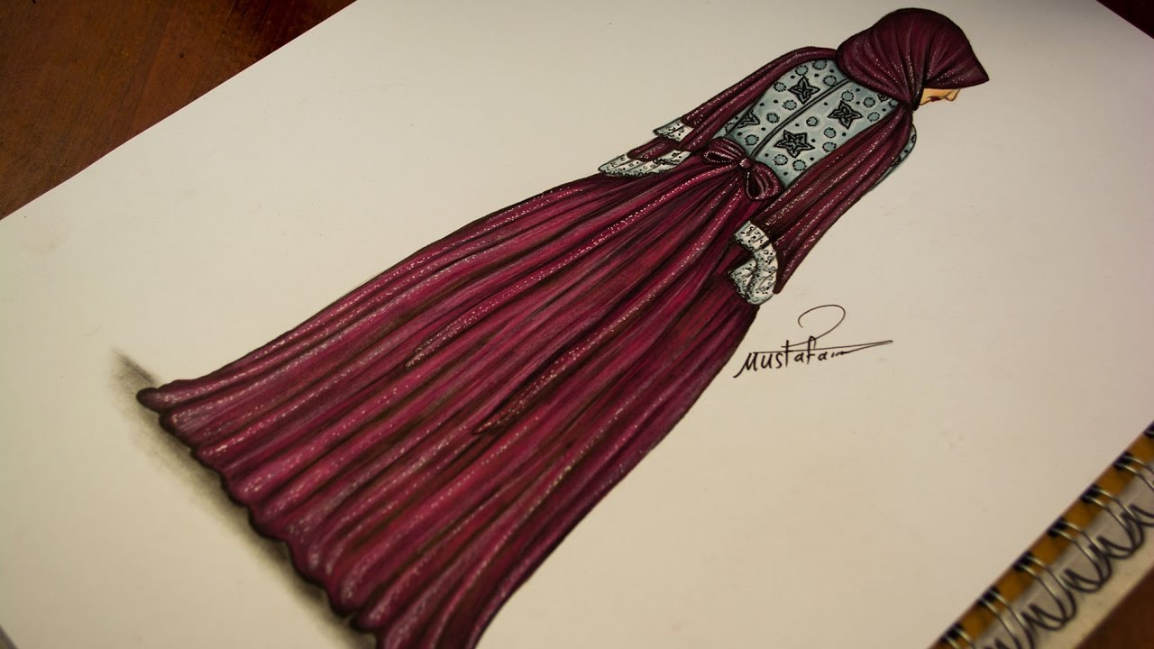 256a7fb9ef487 how to drawing fashion - fashion design drawing - drawing dresses