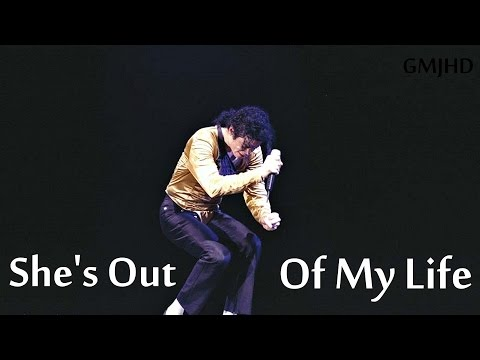 Michael Jackson - She's Out Of My Life - Performace Edit