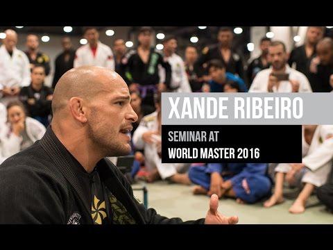 Xande Ribeiro BJJ seminar at World Master 2016