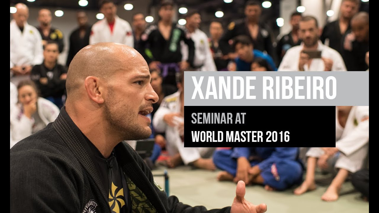 Master 2016 Xande Ribeiro Bjj Seminar At World Master 2016