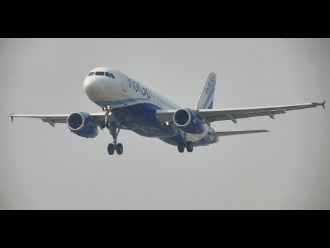 IndiGo Airlines Airbus 320 in HD
