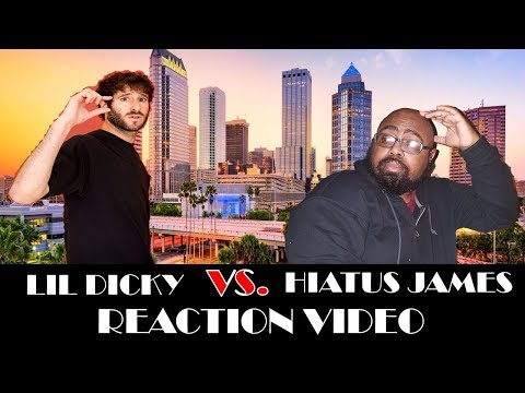 LIL DICKY - PROFESSIONAL RAPPER  REACTION  SHADY BEARDS (THIS TRACK WAS EPIC)
