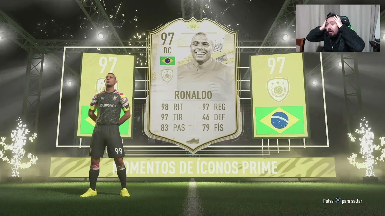 RONALDO NAZARIO MOMENTS (97) IN A PACK