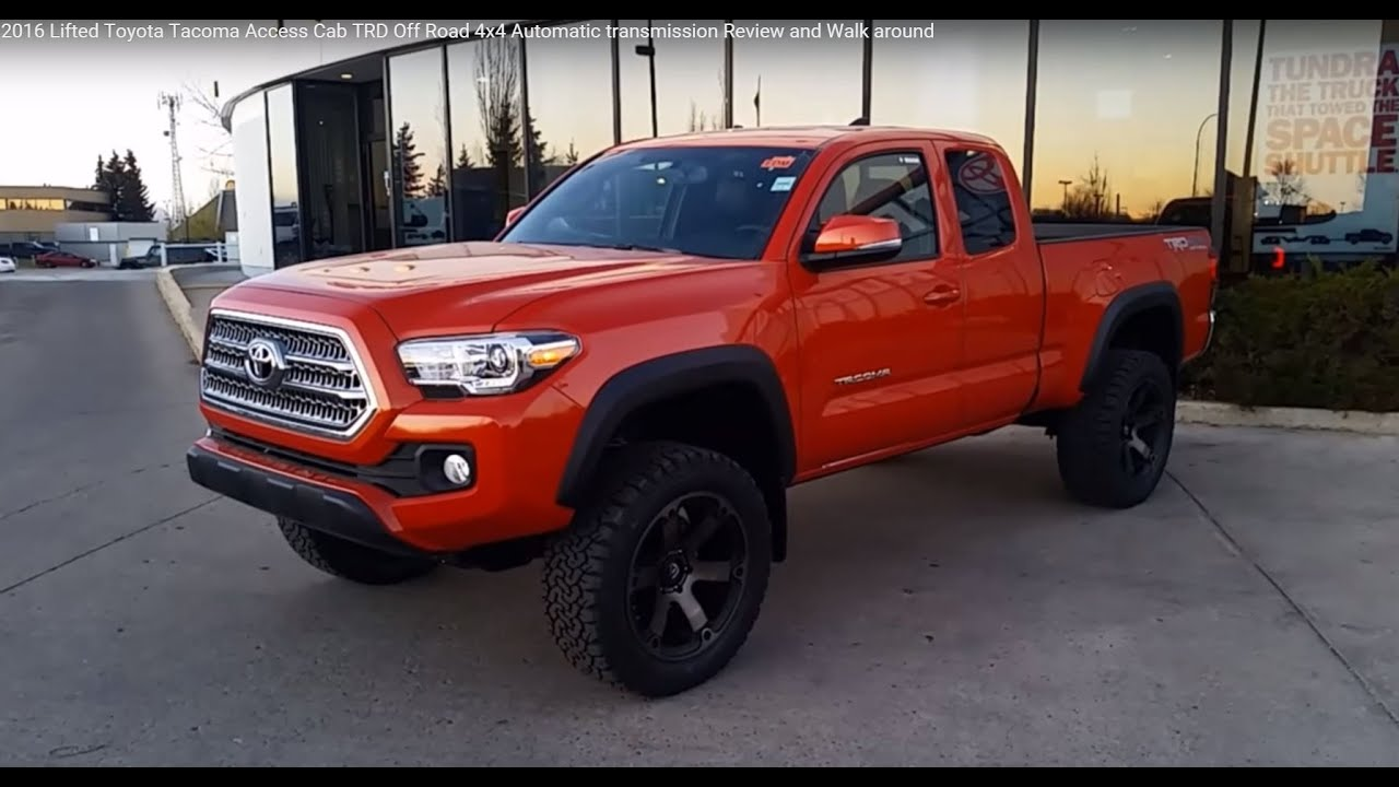 3 Inch Lifted Toyota Tacoma Access Cab - Year of Clean Water