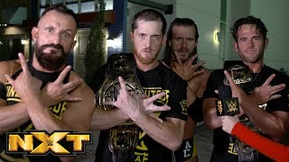 Gambar cover Undisputed ERA react to huge NXT Tag Team Title Match announcement: WWE Exclusive, Jan. 9, 2019