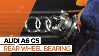 Watch the video guide on AUDI Q5 Axle shaft bearing replacement