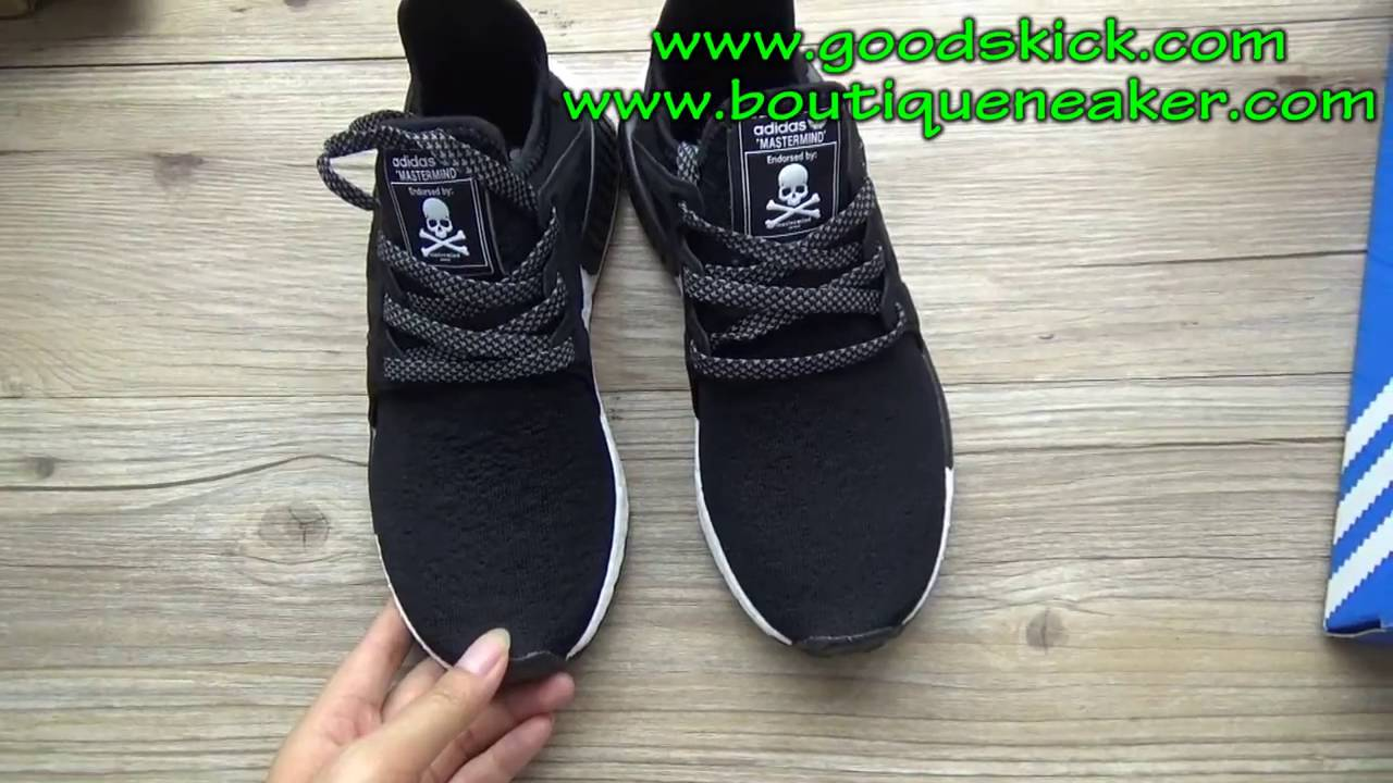 c64a8ecfad62a Adidas Nmd XR1 Mastermind Japan unboxing review from goodskick.club ...