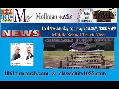 20150324 Chickasha Middle School Track Meet