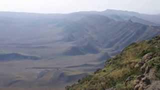 Widok z granicy Gruzja-Azerbejdżan