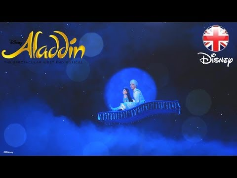 ALADDIN THE MUSICAL | How does Aladdin's Magic Carpet Fly? | Official Disney UK