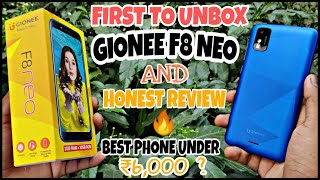 Gionee F8 Neo : Unboxing & Honest Review   Best Low Range Phone  Camera??  Performance?