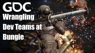 Epic Sync: Wrangling the Work of Highly Interdependent Dev Teams at Bungie