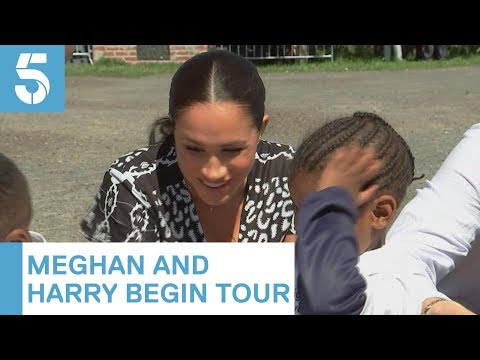 Meghan Markle, Prince Harry and baby Archie arrive in South Africa | 5 News
