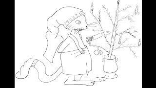 Cat Findus (pettson And Findus) How To Draw A Easy? Кот Петсон (Петсон и Финдус) Как нарисовать?