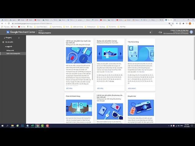 [MyDesign] Bài 18. Tạo Tài khoản Google Merchant Center để chạy qc Google Shopping