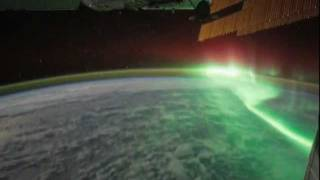 Northern Lights: aurora borealis from space International Space Station NASA images time-lapse