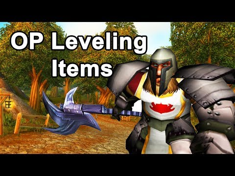 Classic WoW: Top 10 Overpowered Leveling Items