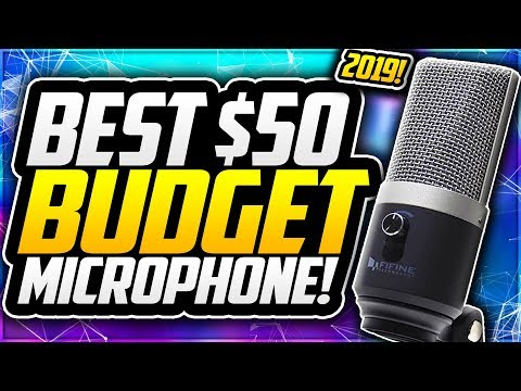 BEST Budget USB Microphone 2019🎙BUDGET Microphone For YOUTUBERS Under $50!  Fifine K670 Mic Review!