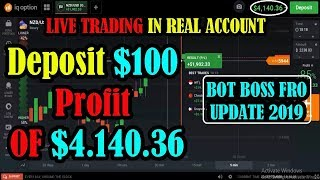 Live Trading iq Option | Deposit $100 profit of $4.140 | Iq Option Signal update 2019 100% accurate