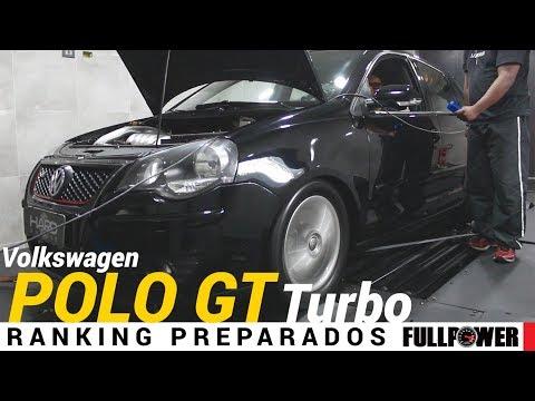 Um novo Polo GT no dinamômetro, afinal, ficou monstrão, agora turbinado!