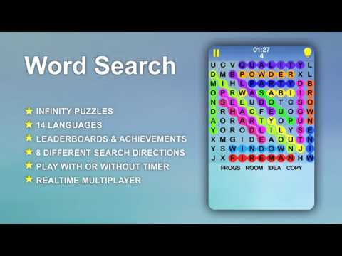 Word Search A Free Infinite Crossword Puzzle Game Apps On