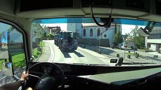 Евро Дальнобой #120 Уперся в ремонт дороги!