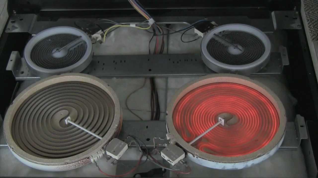 Electric Range Stove Repair: How To Repair Burner Elements  YouTube