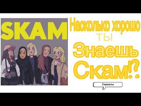 НАСКОЛЬКО ХОРОШО ТЫ ЗНАЕШЬ СКАМ!? Тест по Skam| Сериал Скам/Стыд