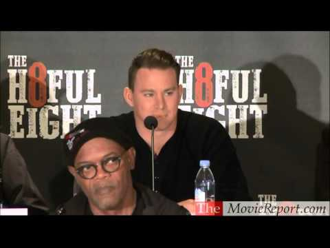 THE HATEFUL EIGHT uncut press conference, December 5, 2015