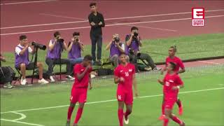 Singapore vs Maldives International 'A' Friendly match at Singapore National Stadium 24th March 2018