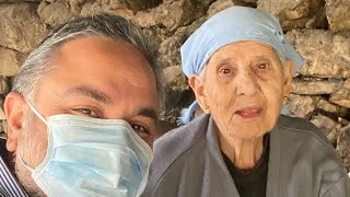 "LIVE with ""84 Years Old"", Tante Nadia of Al Nammoura Village: (Saj Manakish for More than 30 Years)"