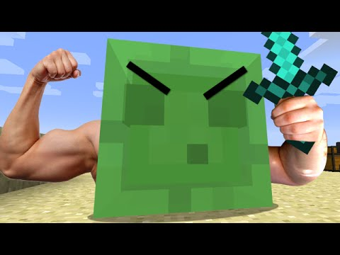 Minecraft: JERRY THE ULTIMATE BATTLE SLIME - Useful Pets ...