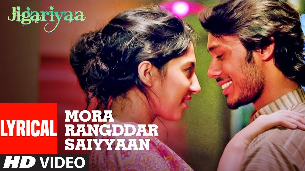Mora Rangddar Saiyyaan Lyrical | Jigariyaa | Harshvardhan Deo  | Prajakta Shukre, Roopkumar Rathod