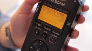 How to use the Tascam DR-40 | Basic Tutorial