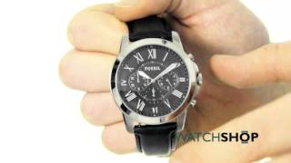 Fossil Men's Grant Chronograph Watch (FS4812)