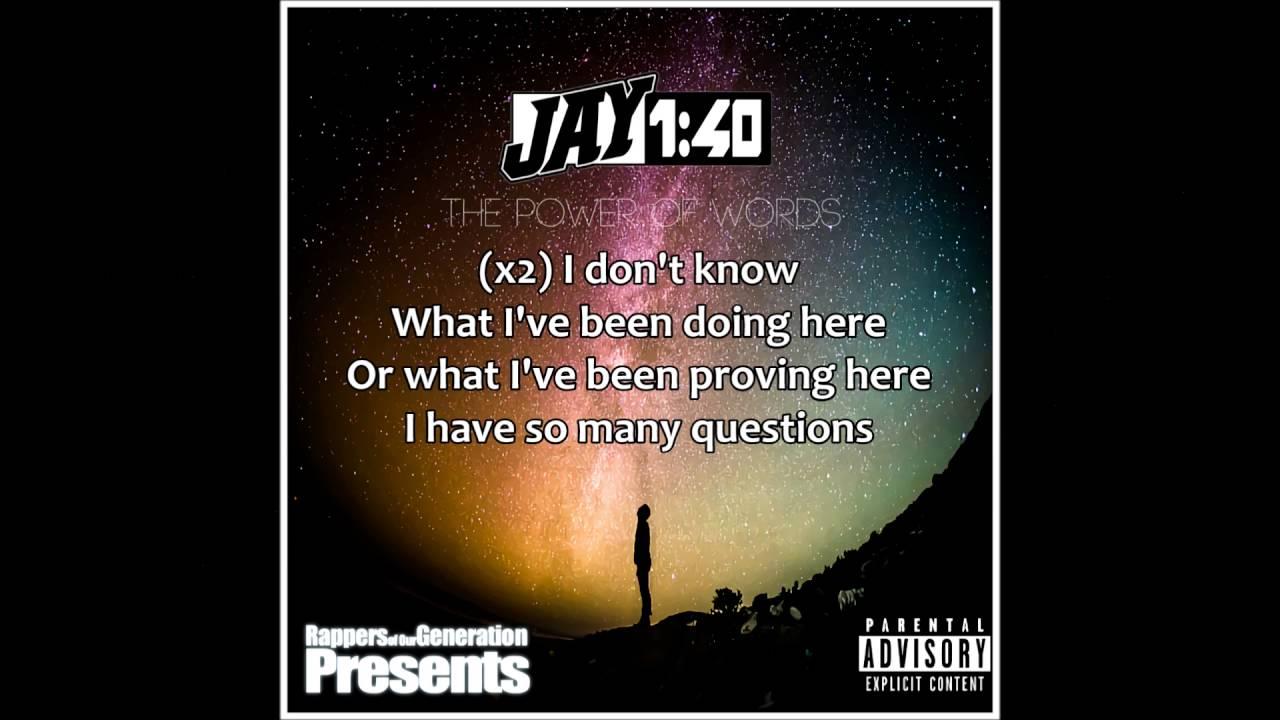 1,40 Lyrics