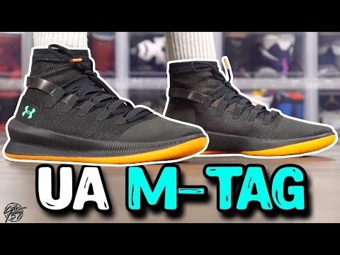 Under Armour M-TAG First Impressions! $110 Basketball Shoe!