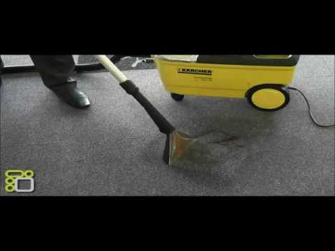 Химчистка Karcher Puzzi 100 Super - моющий пылесос Керхер - YouTube