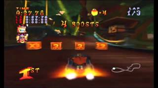 Crash Nitro Kart Boss # 1: Krunk